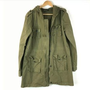 HYE Park and Lune 1 Plus Military Jacket Green